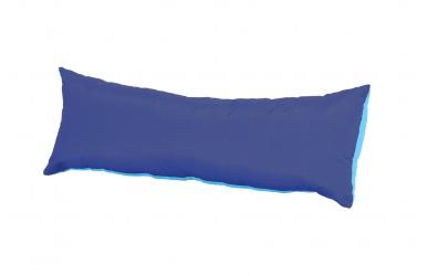 Polštář obdélník tyrkysovo/modrý
