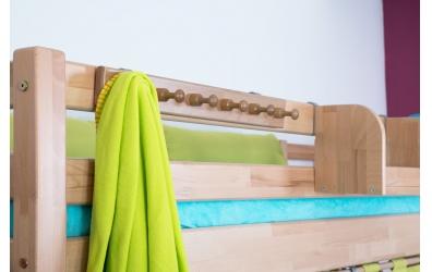 Závěsný věšák na postel buk cink