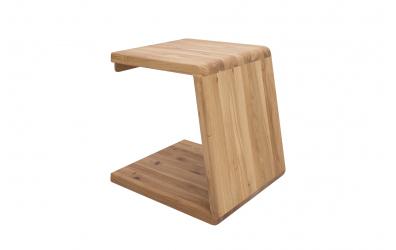 Noční stolek KUPÉ, divoký dub