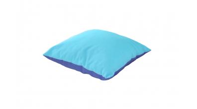 Polštář čtverec tyrkysovo/modrý