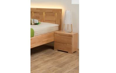 LED osvětlení čela postele 90 - teplá bílá