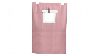 Závěsná textilie PASTEL palanda-růžová