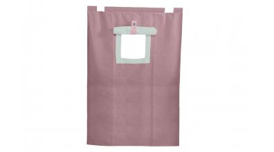 Závěsná textilie PASTEL palanda-fialová
