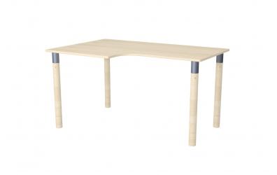 Psací stůl ERGO maxi levý smrk