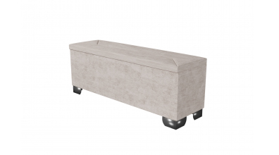 Čalouněný taburet Mirach prošívaný 140 cm, MATERASSO