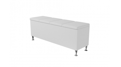 Čalouněný taburet Vega prošívaný 140 cm, MATERASSO