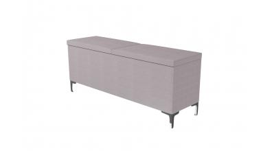Čalouněný taburet Prestige prošívaný 140 cm, MATERASSO