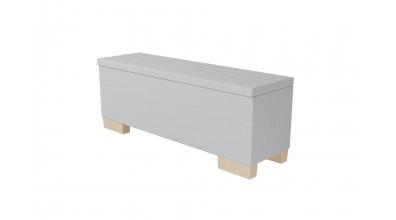 Čalouněný taburet Nobilia prošívaný 140 cm, MATERASSO