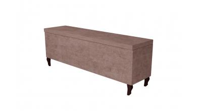 Čalouněný taburet Enif 160 cm, MATERASSO