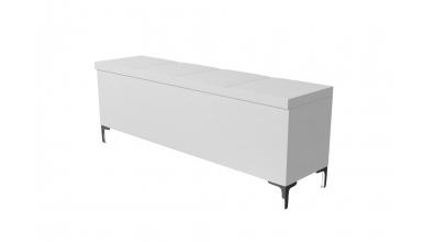 Čalouněný taburet Gemini prošívaný 160 cm, MATERASSO