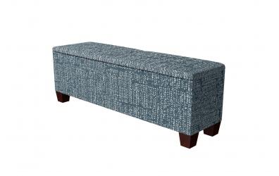 Čalouněný taburet Kingstone prošívaný 160 cm, MATERASSO