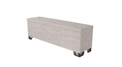 Čalouněný taburet Mirach prošívaný 160 cm, MATERASSO