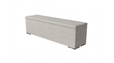 Čalouněný taburet Horizontal prošívaný 160 cm, MATERASSO