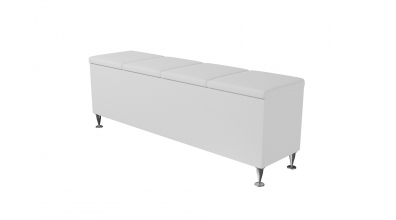 Čalouněný taburet Vega prošívaný 160 cm, MATERASSO