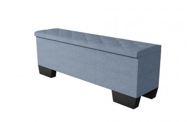 Čalouněný taburet Alesia prošívaný 160 cm, MATERASSO