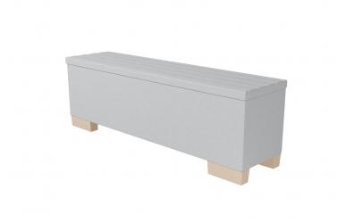 Čalouněný taburet Nobilia prošívaný 160 cm, MATERASSO