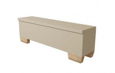 Čalouněný taburet Argentina 180 cm, MATERASSO