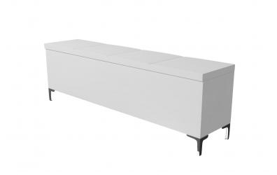 Čalouněný taburet Gemini prošívaný 180 cm, MATERASSO