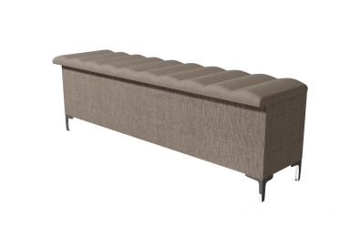 Čalouněný taburet Bellatrix prošívaný 180 cm, MATERASSO