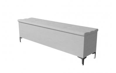 Čalouněný taburet Claudia prošívaný 180 cm, MATERASSO