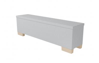 Čalouněný taburet Nobilia prošívaný 180 cm, MATERASSO