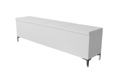 Čalouněný taburet Gemini prošívaný 200 cm, MATERASSO