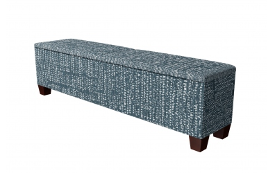 Čalouněný taburet Kingstone prošívaný 200 cm, MATERASSO