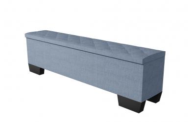 Čalouněný taburet Alesia prošívaný 200 cm, MATERASSO