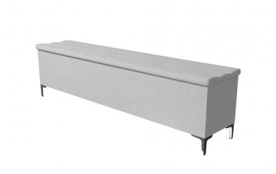 Čalouněný taburet Claudia prošívaný 200 cm, MATERASSO