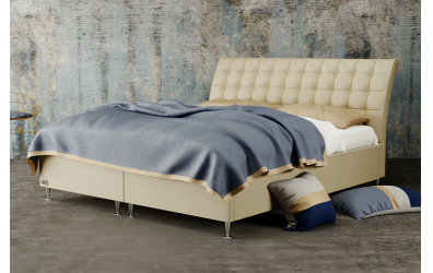 Čalouněná postel boxspring FRANCESCA 120x200, MATERASSO