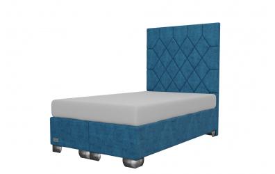Čalouněná postel boxspring RHOMBUS 120x200, MATERASSO
