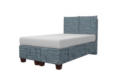 Čalouněná postel boxspring KINGSTONE 120x200, MATERASSO