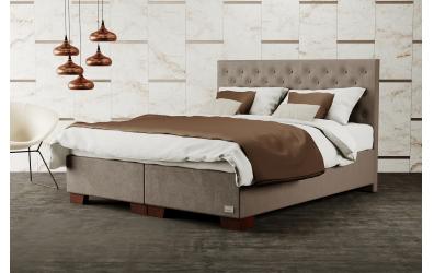 Čalouněná postel boxspring VELORUM 120x200, MATERASSO