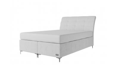 Čalouněná postel boxspring CLAUDIA 140x200, MATERASSO