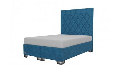 Čalouněná postel boxspring RHOMBUS 140x200, MATERASSO