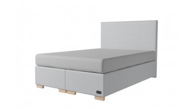 Čalouněná postel boxspring NOBILIA 140x200, MATERASSO