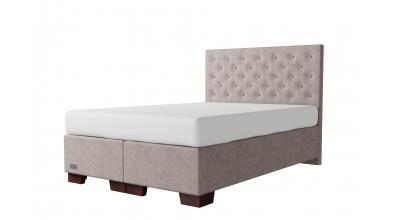 Čalouněná postel boxspring VELORUM 140x200, MATERASSO