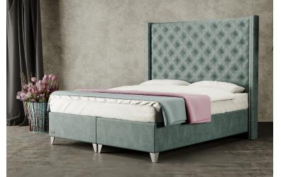 Čalouněná postel boxspring VIENNA 140x200, MATERASSO
