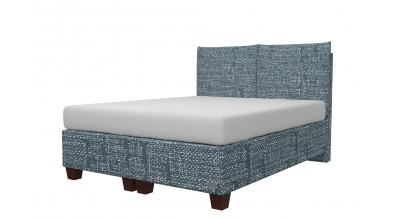 Čalouněná postel boxspring KINGSTONE 160x200, MATERASSO