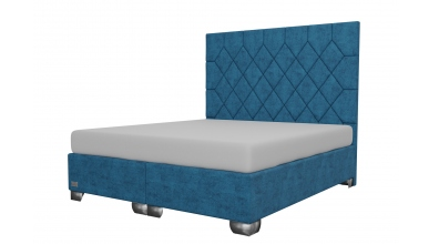 Čalouněná postel boxspring RHOMBUS 180x200, MATERASSO