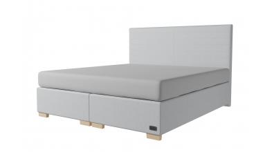 Čalouněná postel boxspring NOBILIA 180x200, MATERASSO