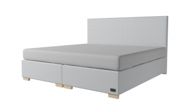 Čalouněná postel boxspring NOBILIA 200x200, MATERASSO