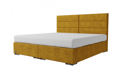 Čalouněná postel boxspring CORONA 200x200, MATERASSO