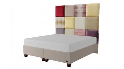 Čalouněná postel boxspring PARIS 200x200, MATERASSO