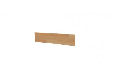 Krycí deska ELEGANT pro nízké čelo postele SOFIA 90, buk cink