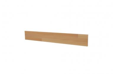 Krycí deska ELEGANT pro nízké čelo postele SOFIA 140, buk cink