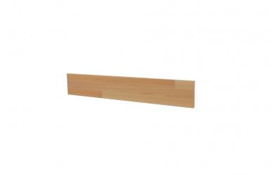 Krycí deska ELEGANT pro nízké čelo postele AGÁTA 120, buk cink