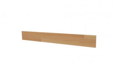 Krycí deska ELEGANT pro nízké čelo postele INGA 160, buk cink