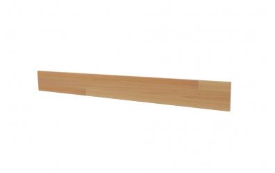 Krycí deska ELEGANT pro nízké čelo postele INGA 180, buk cink