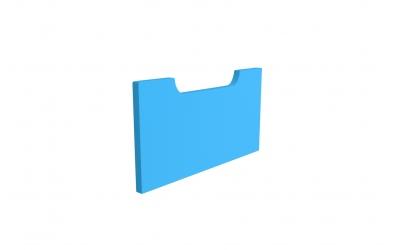 Krycí deska k úložnému prostoru tříčtvrtečnímu BUBBLES buk cink